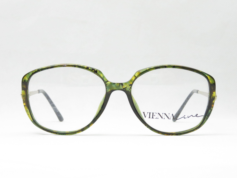 Original Vintage Brille Viennaline Mod 1643 80er Jahre Brillengestell Fur Damen Kunststoffrahmen Grun Braun Gold Geschenk Fur Sie Trend 80s Glasses Frames Glasses Frames Vintage Glasses