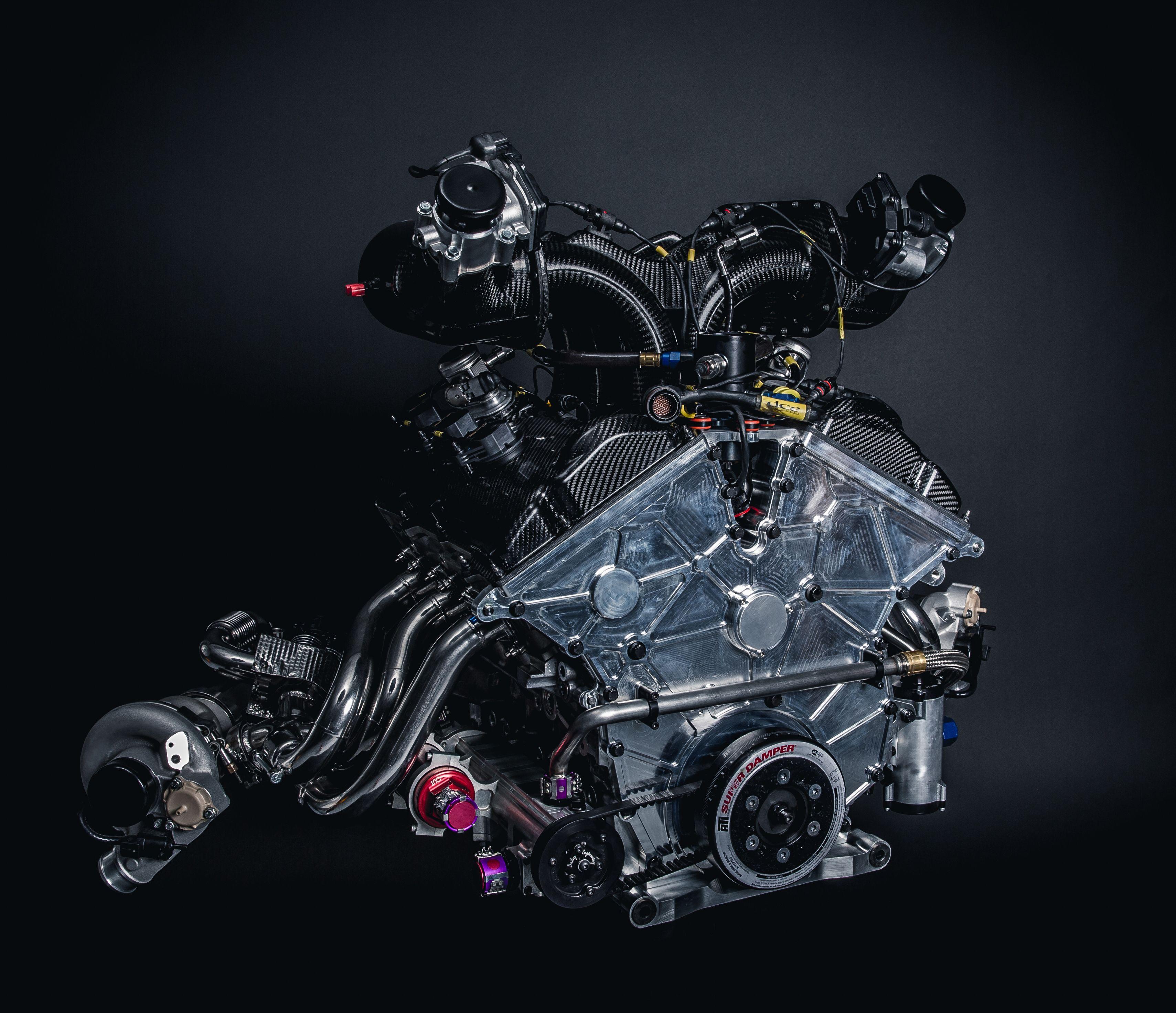 Roush Yates Engines Ford  L Dohc V  Ecoboost Race Engine Imsa