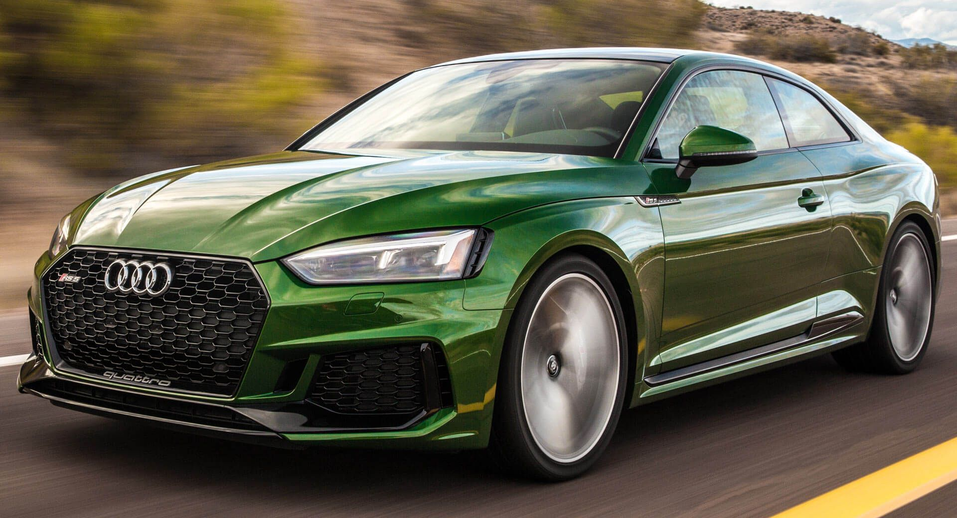 2018 Audi Rs5 Coupe Arrives In America For A Little Under 70 000 Carscoops Audi Rs5 Audi Rs5 Coupe