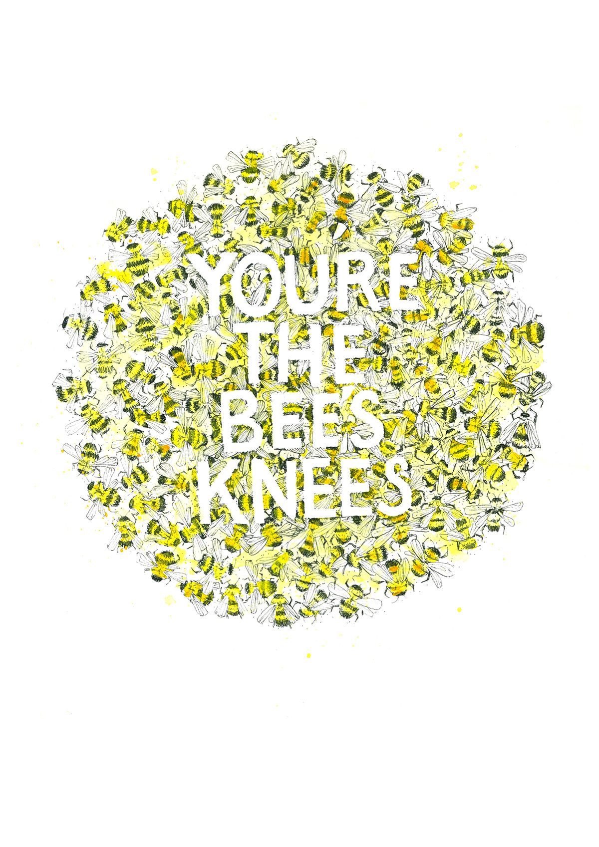 You're the Bee's Knees on Behance NO3