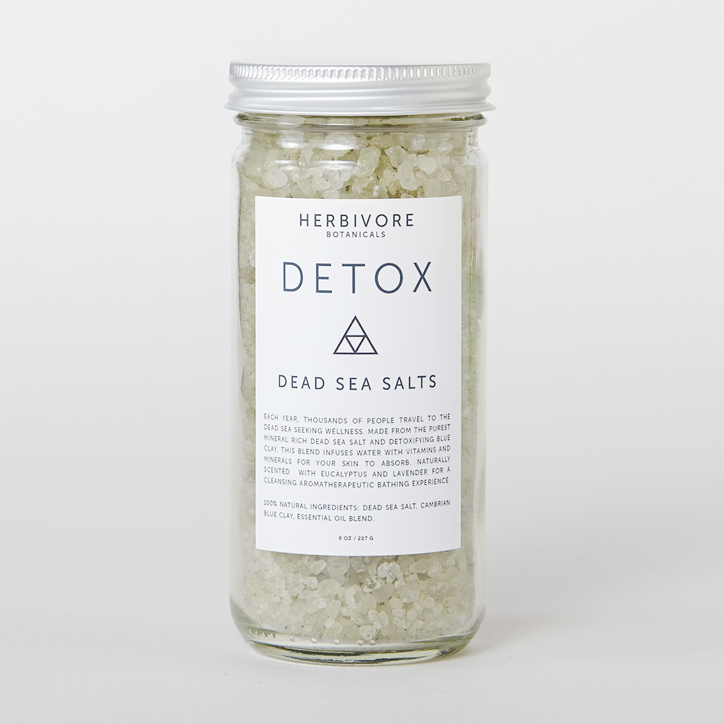Detox: Dead Sea Bath Salts