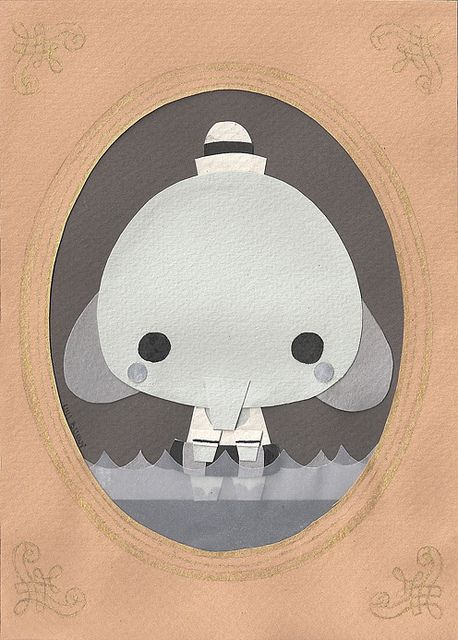 Little Elephant by Luli Bunny, via Flickr