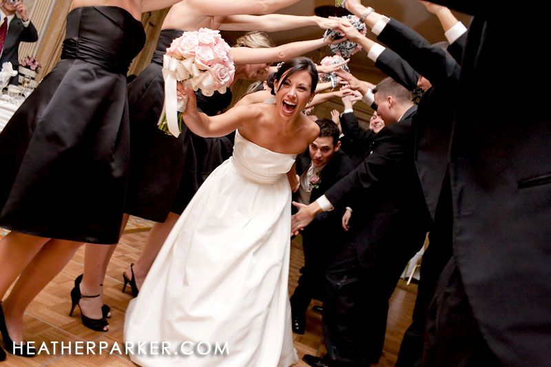 Entrance With Bridal Party Photography Weddings Pinterest