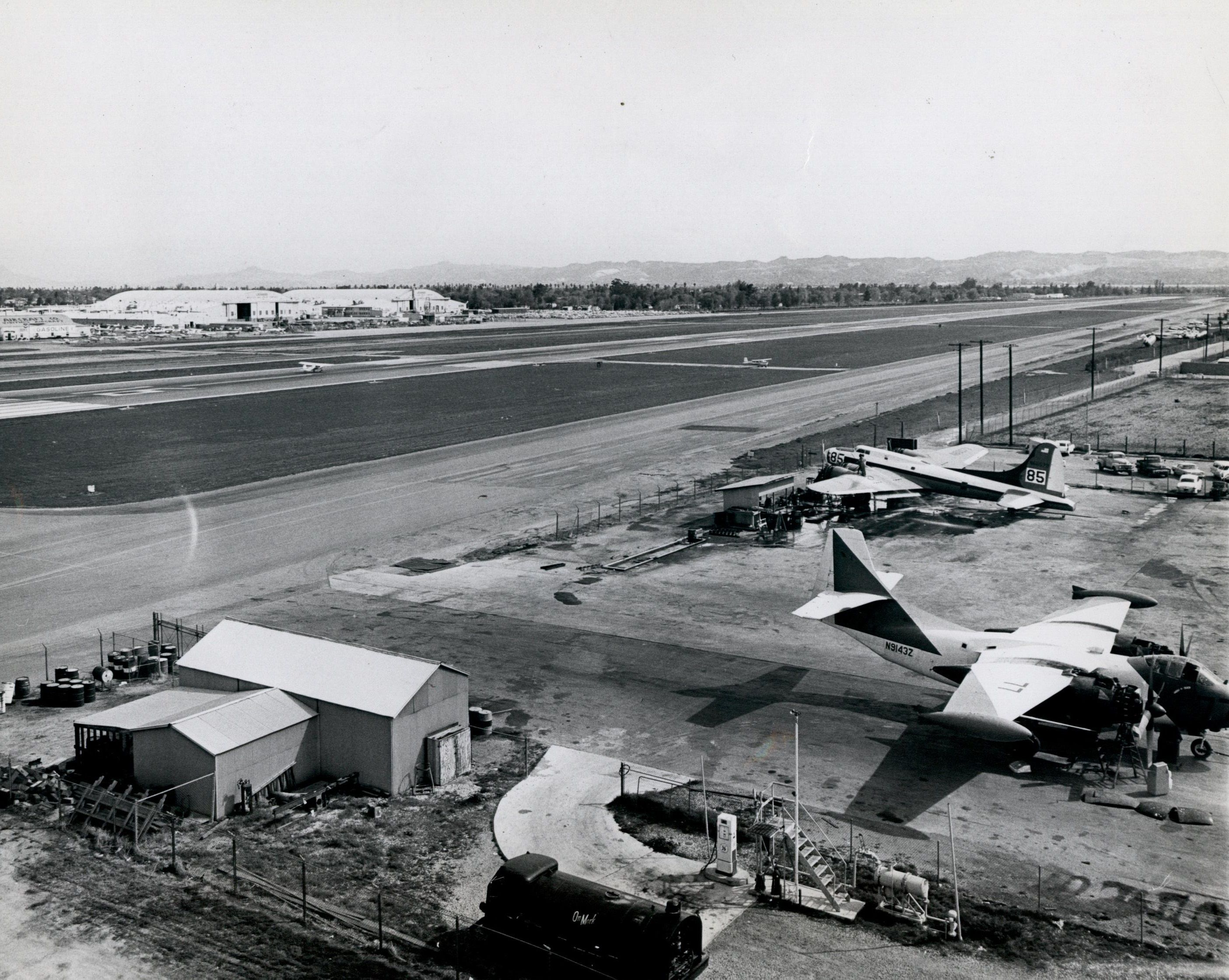 Throwbackthursday to a view of van nuys airport in 1968 from atop throwbackthursday to a view of van nuys airport in 1968 from atop the old tower aiddatafo Choice Image