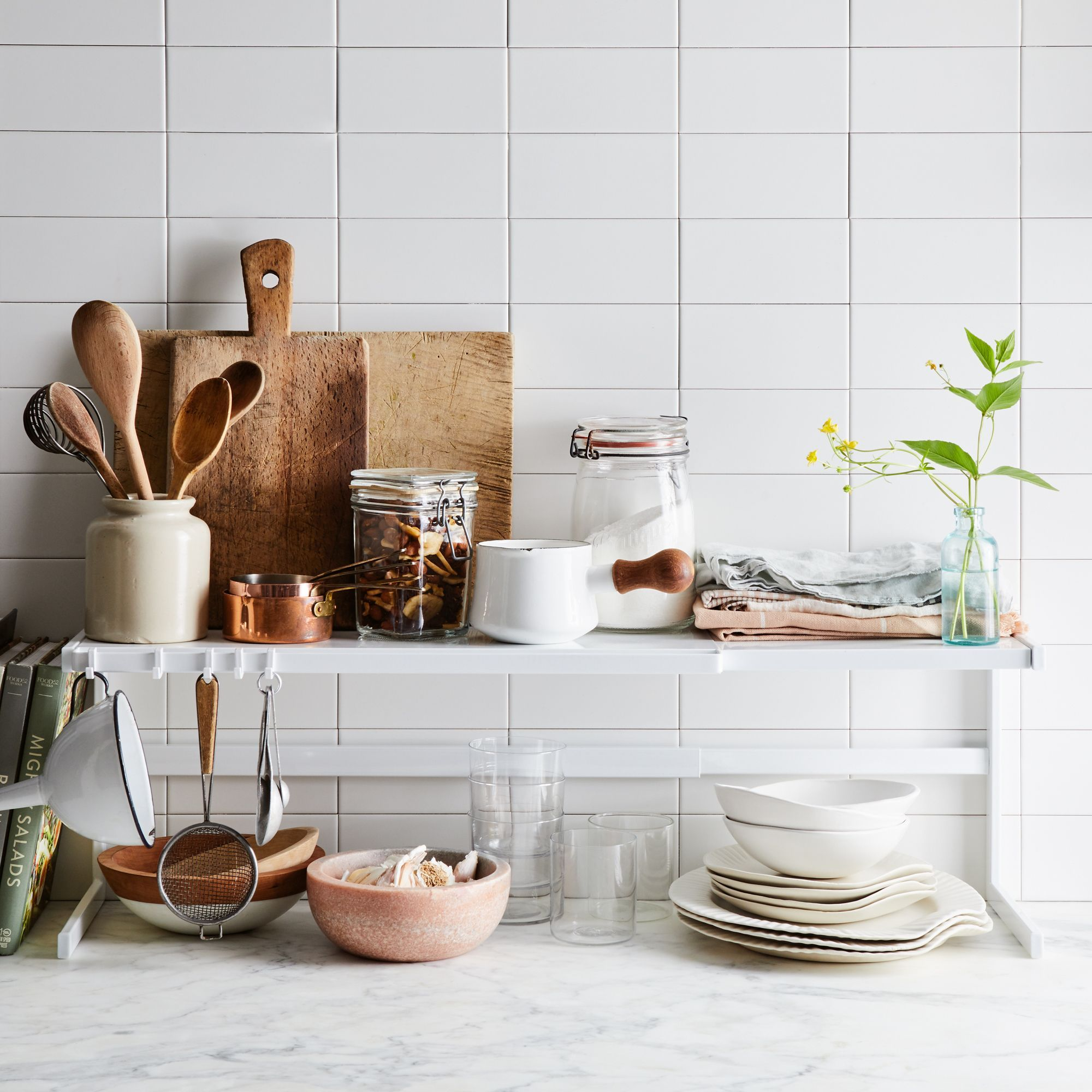 Expandable Countertop Rack Kitchen Decor Apartment Countertops Kitchen Counter Decor