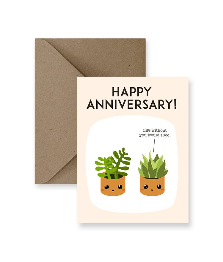 Funny anniversary card for husband funny anniversary card