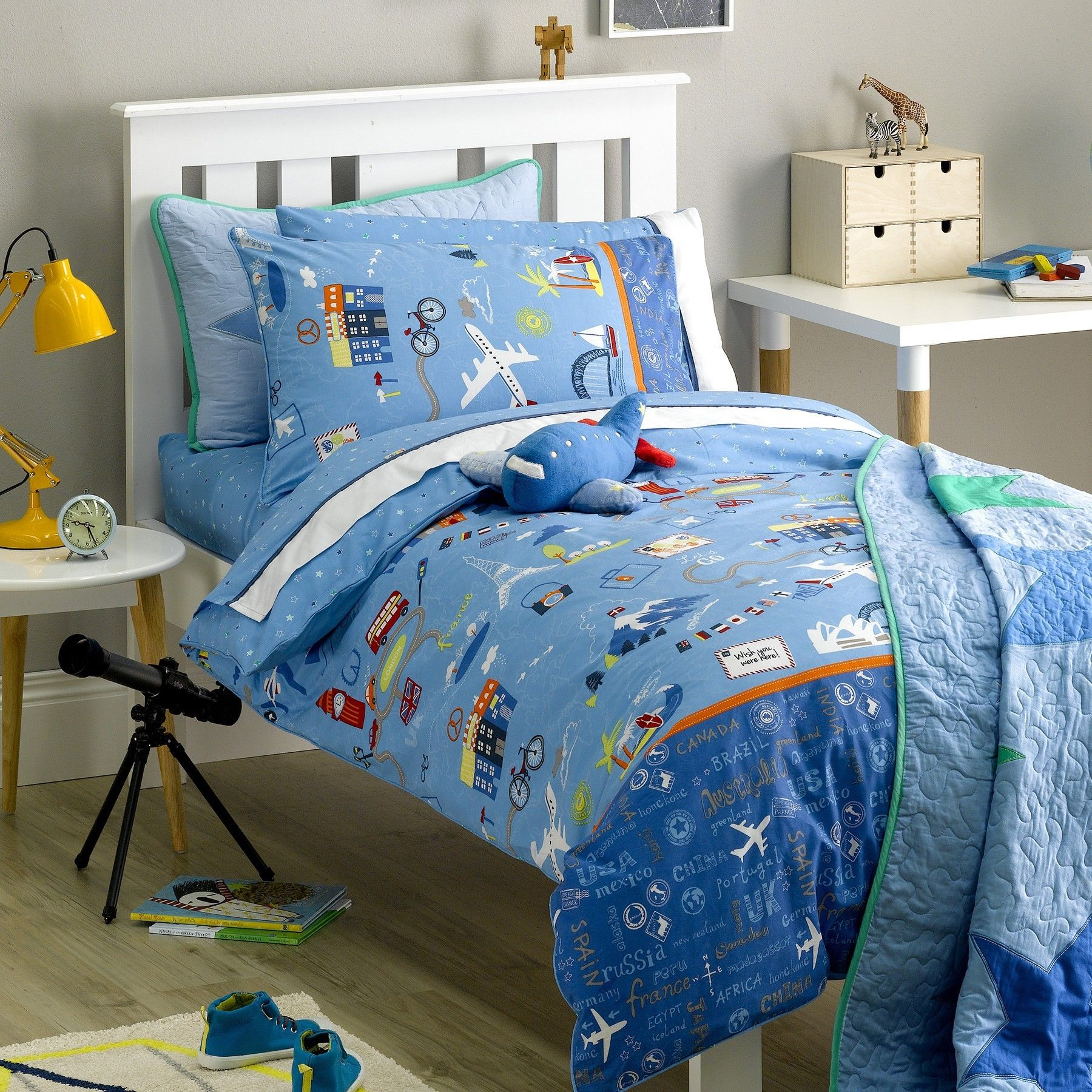 buy freckles single bed quilt cover set - travellerfreckles