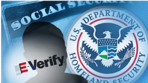 If You Like The Surveillance State, You'll Love E-Verify. NSA spying, IRS targeting Obama's political opponents, collection & sharing our health care info. The Senate took another step toward an authoritarian surveillance state by burying in the immigration bill a national identification system called mandatory E-Verify.