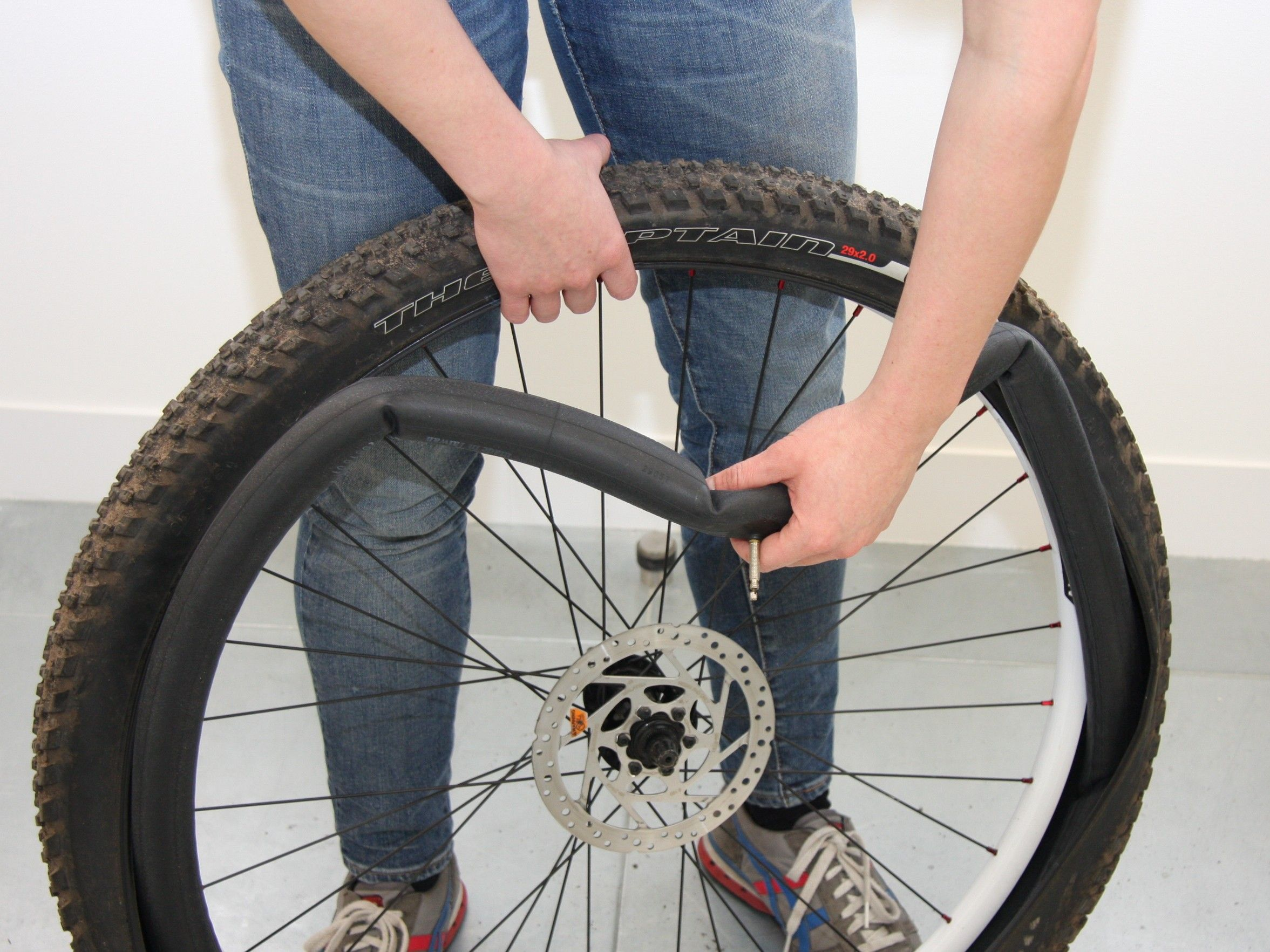 How To Change An Inner Tube Bicycle Tires Bicycle Folding