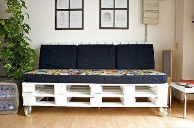 20 Ideas con Palets ~ Mi Casa Inventada | Love Palete | Pinterest