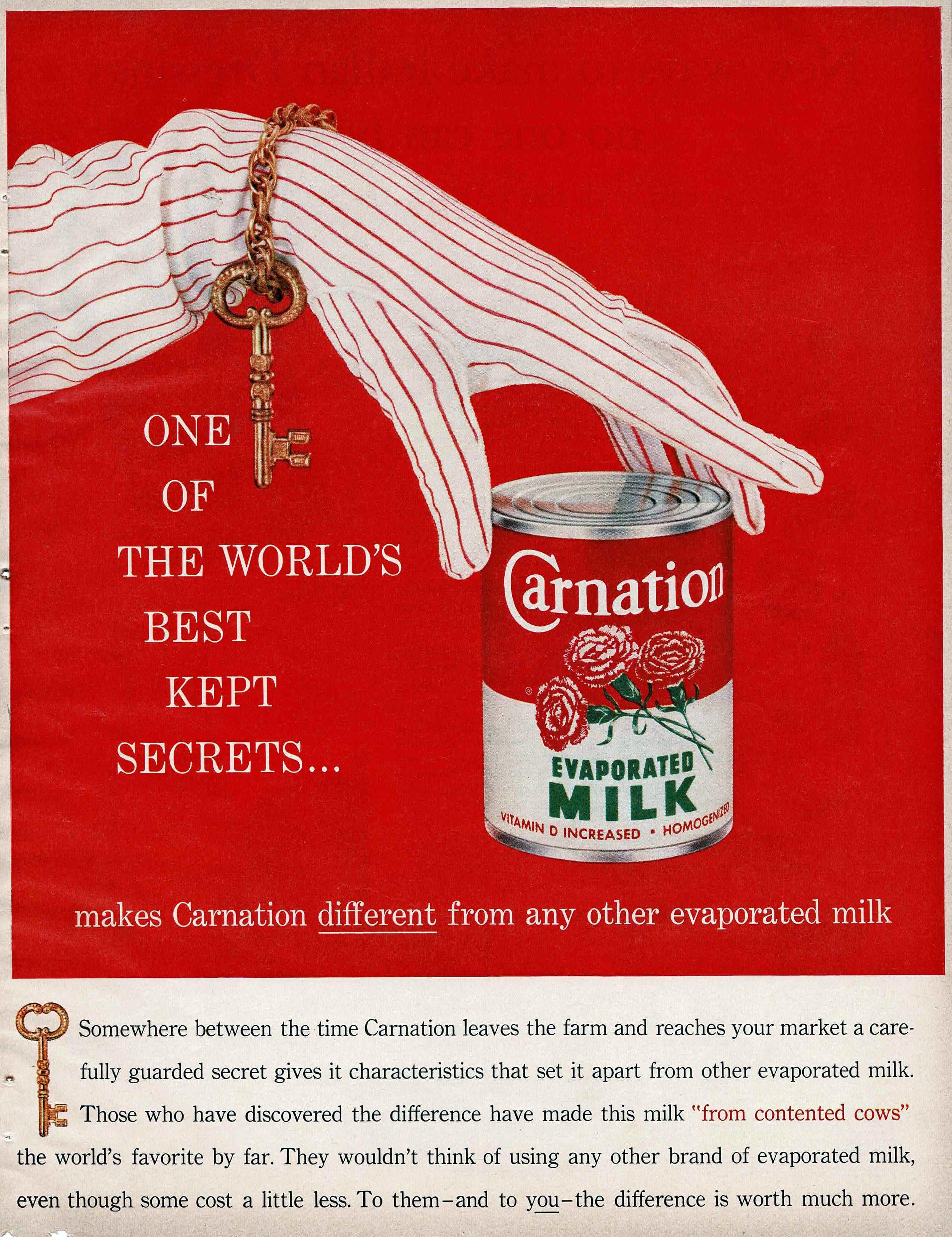 Carnation Evaporated Milk Evaporated Milk Vintage Ads Milk