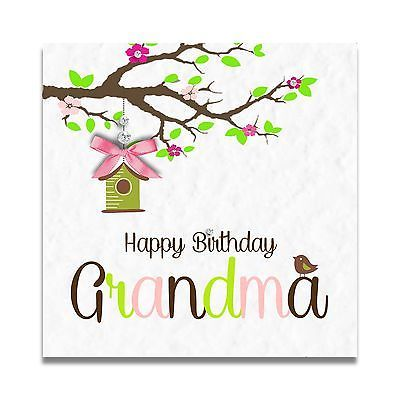 Handmade Personalised Grandma Nanny Mum Sister 60th 70th 80th 90th Birthday Card