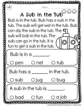 Kindergarten Reading Comprehension | Klasse und Kind