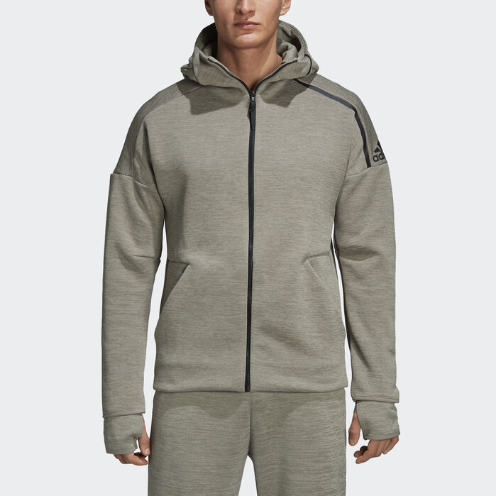 adidas Z.N.E. Fast Release Hoodie Grey 2XL Mens (With images