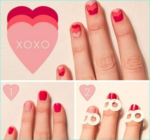 18 Ridiculously Sweet Valentine\'s Day Nail Art Designs | 18 ...