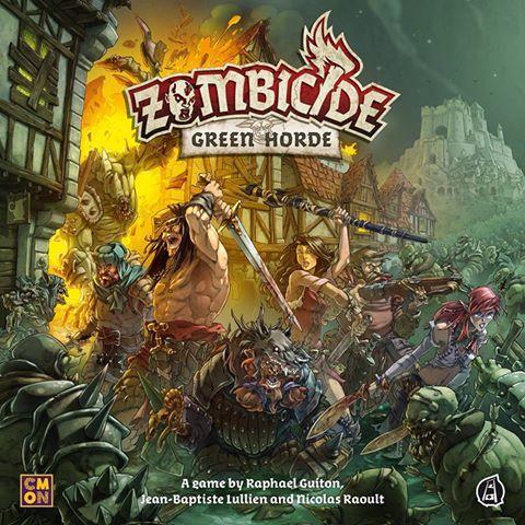 Zombicide Green Horde Image Boardgamegeek Horde Board Games Zombie