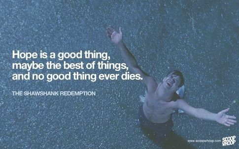 Pin By Jahnavi Lingamaneni On Struggle Favorite Movie Quote Life Quotes Shawshank Redemption Essay Hope
