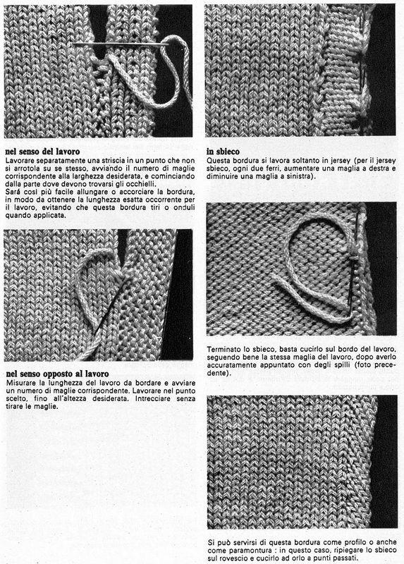 bordi 2 | Örgü Teknikleri | Pinterest | Dos agujas, Tejido y Tricotar