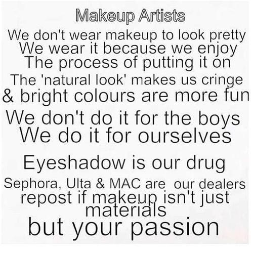 S C I L L A Photo Makeup Artist Quotes Makeup Quotes Makeup Memes