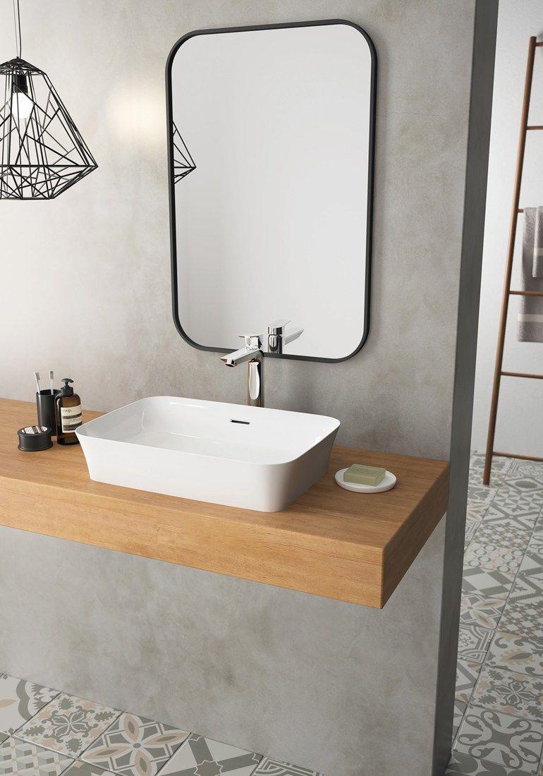 Countertop Rectangular Single Washbasin Ipalyss By Ideal Standard Specchio Da Bagno Piccolo Bagno Con Doccia Ispirazione Bagno