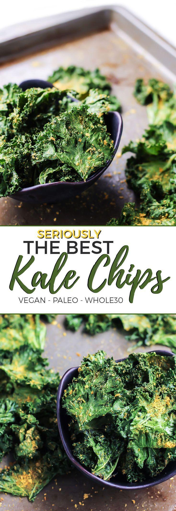 kale chips recipe pinterest The Best Kale Chips