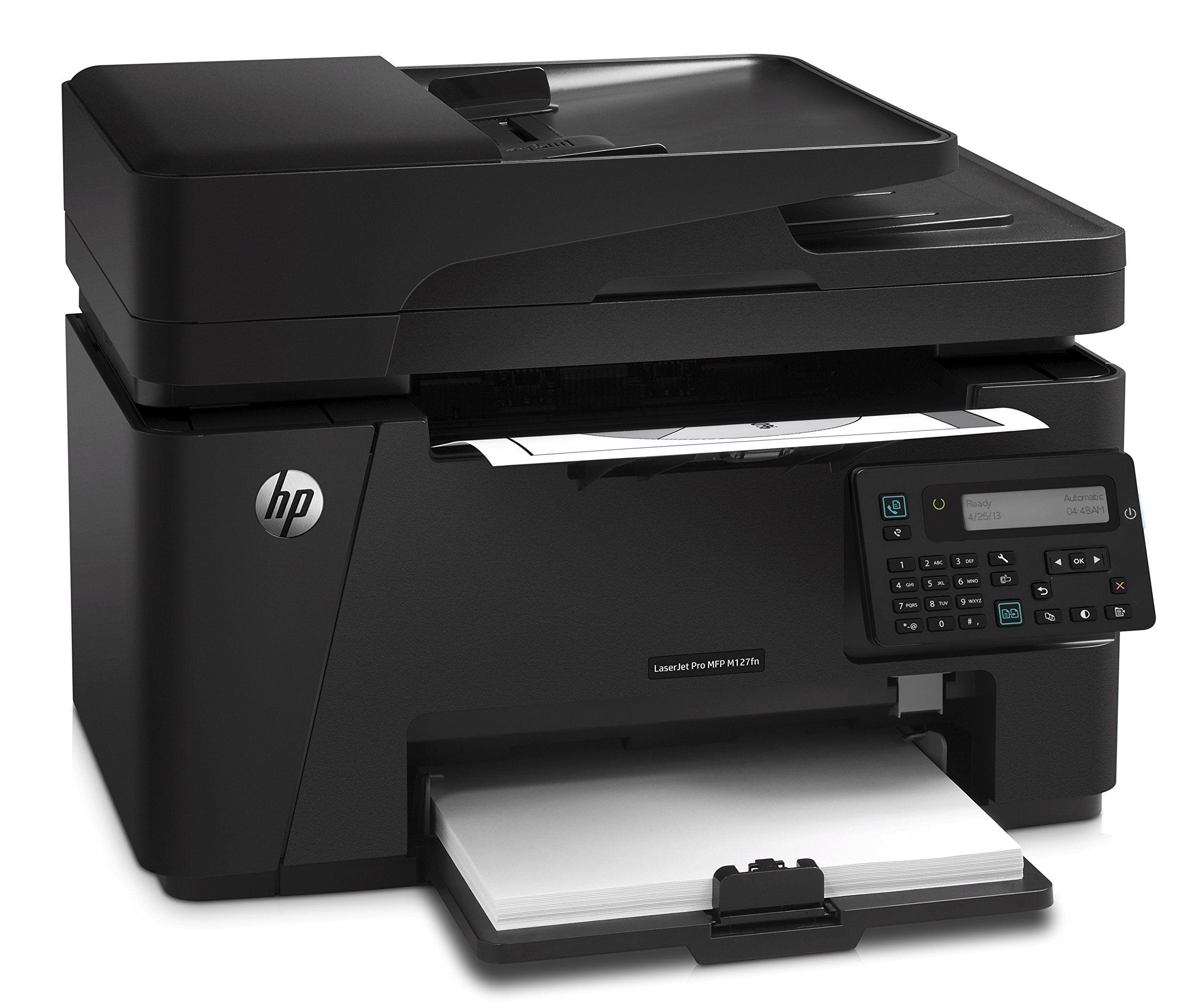 Hp Laserjet Pro M127fn Networked Allinone Monochrome Printer