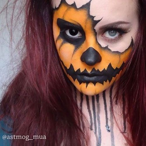 How To Apply Makeup Like A Pro Crazy Halloween Makeup Amazing