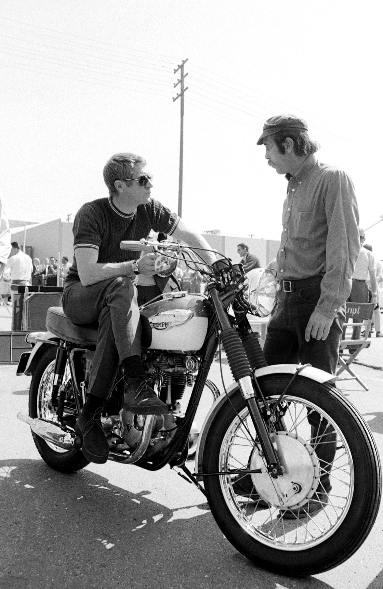 Those Sanders  amp  Sanders Playboy Chukkas.Steve McQueen. Steve Mcqueen  Motorcycle 73c674753