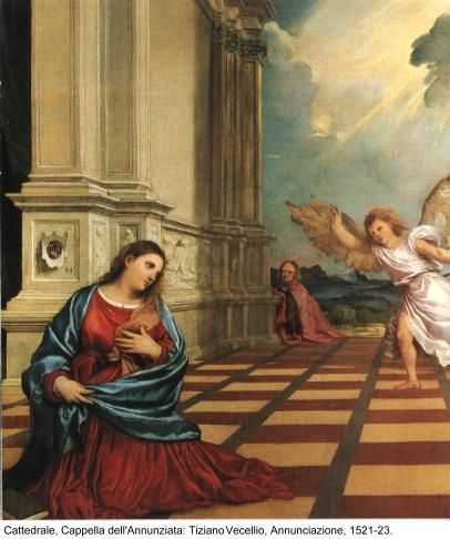 Tiziano, Annunciazione