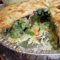 Easy Vegetable or chicken Potpie