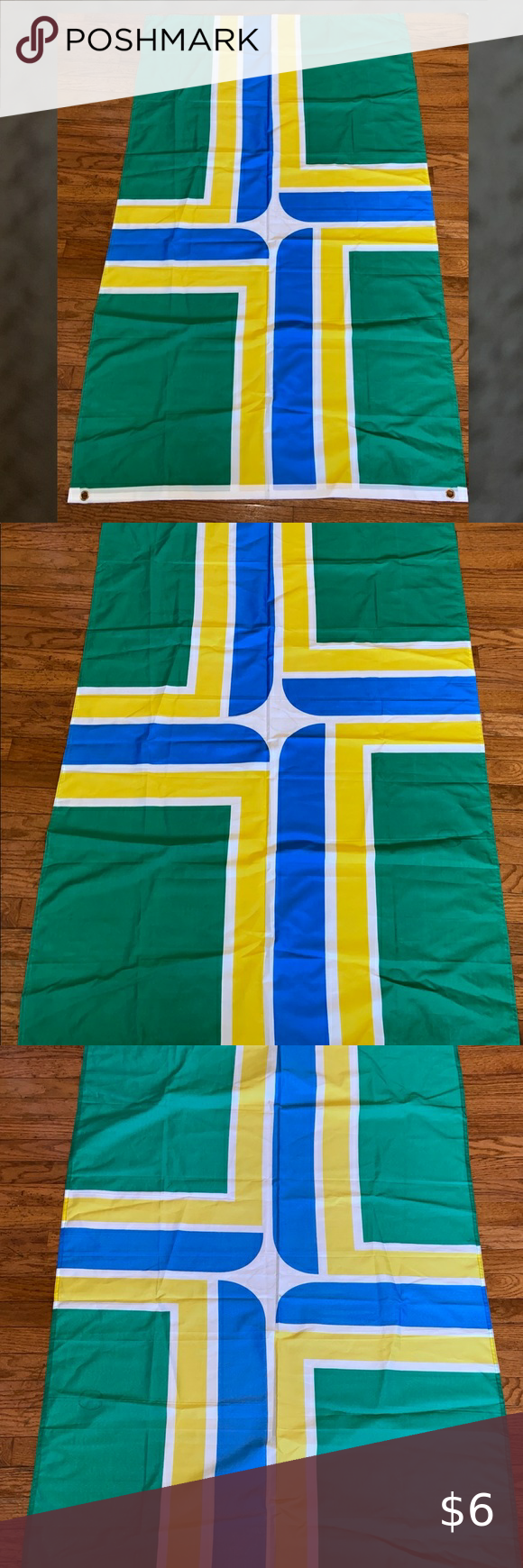 City Of Portland Flag 6x3ft See Pics Cool Flag Other In 2020 Portland City City Outdoor Blanket
