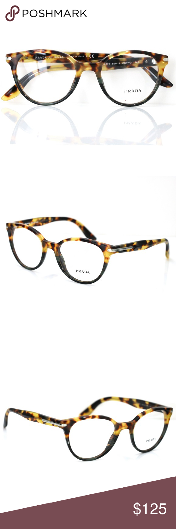 3c005a18d158 Prada Optical Eyeglasses 07T Havana frame New Comes with Prada case. Authentic  Prada Accessories Glasses