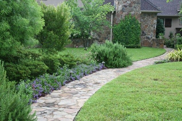 Natural Stone Landscaping Path Texas Landscaping Landvisions TX Tyler, TX - Natural Stone Landscaping Path Texas Landscaping Landvisions TX