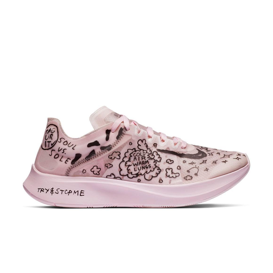 """Nike Zoom Fly SP Fast """"White/Black/Pink Foam"""" Men's"""