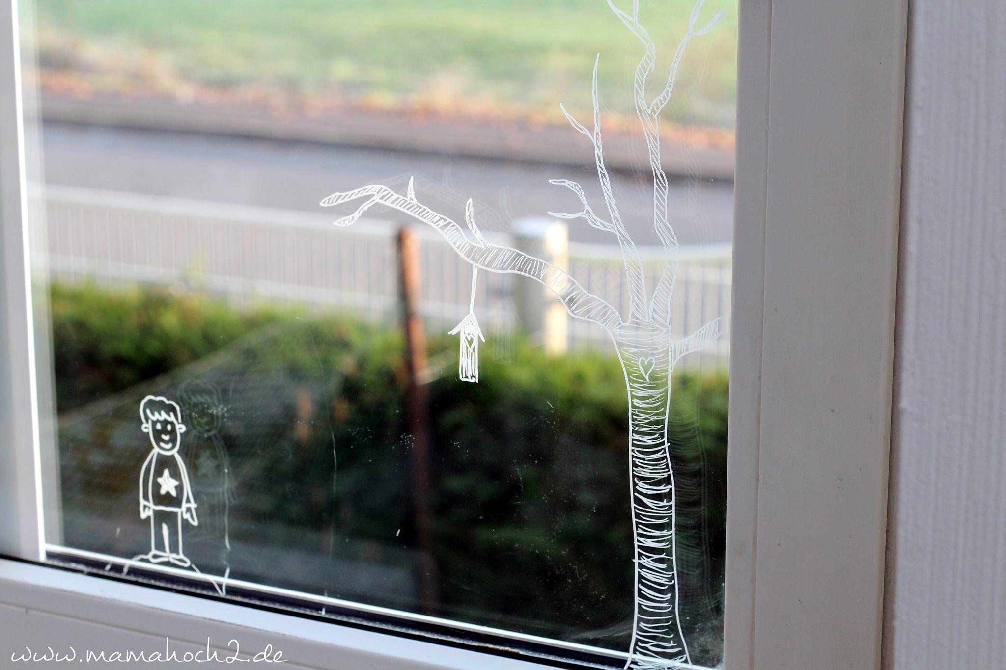 Winter Fensterbilder Diy Ein Paar Ideen Wie Du Deine Fenster Gestalten Kannst Mamahoch2 Fensterbilder Basteln Fensterbilder Herbst Dekoration