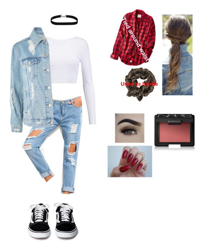 School spirit day 2: decades day ( 90's chick ) by kjp456 on Polyvore featuring Cushnie Et Ochs, Topshop, American Eagle Outfitters and NARS Cosmetics #decadedayoutfits