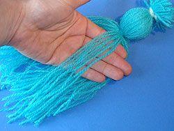 ein Wichtel aus Wolle