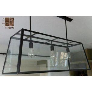 luminaire suspension design une lampe suspension xxl dit e par cote terrasse luminaires. Black Bedroom Furniture Sets. Home Design Ideas