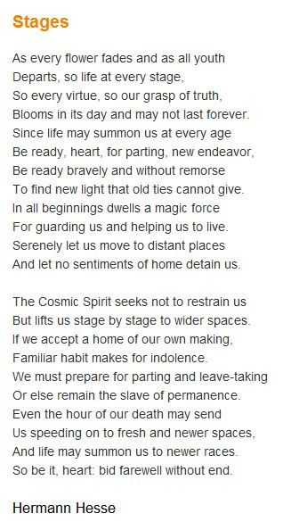 Hesse gedichte englisch