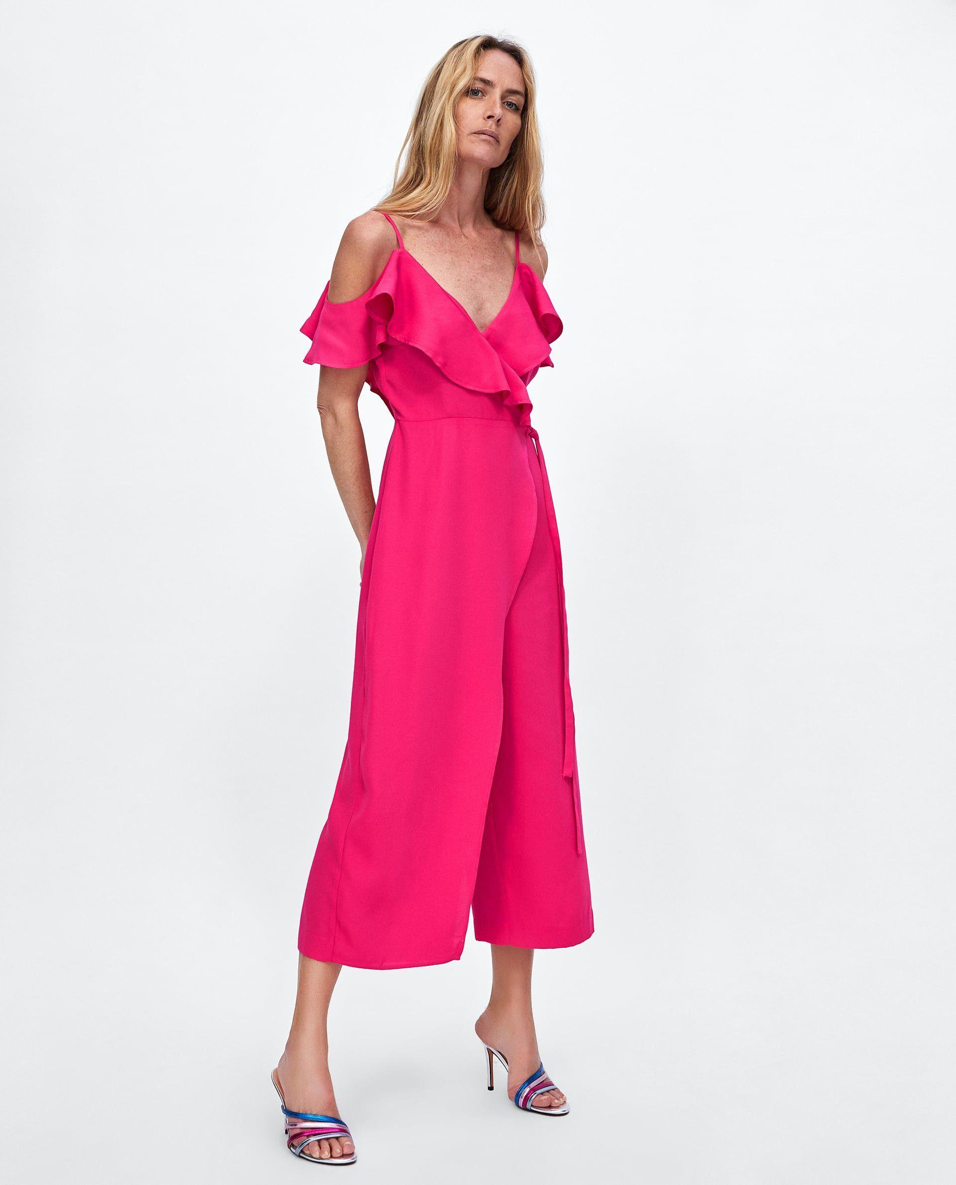 Zara Jumpsuit Zara Fashion Women Fashion Zara Jumpsuit [ jpg ]