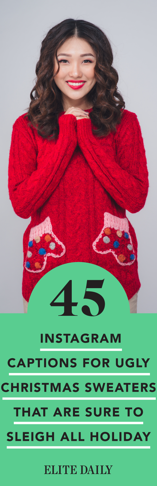 87bc9ad6 Christmas Captions For Instagram, Hannukah, Kwanzaa, Ugly Sweater, Ugly  Christmas Sweater,