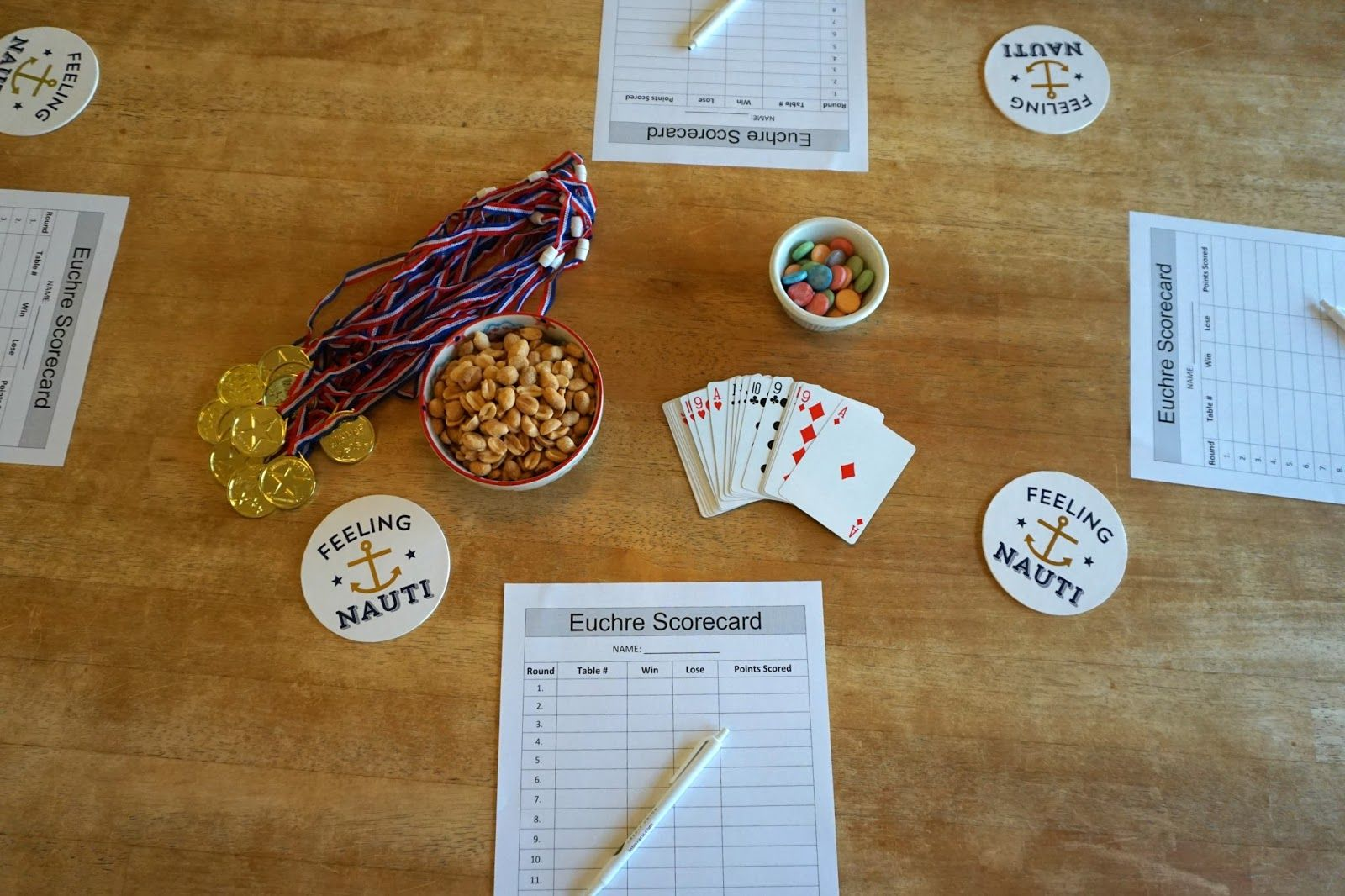 How To Throw A Euchre Party Party, Game night, Games
