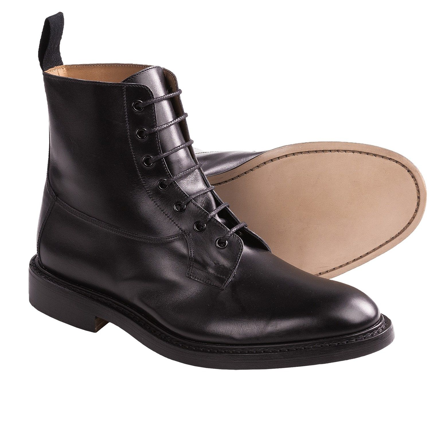 Tricker's Burford Derby Leather Boots (For Men) | Boots, Leather ...