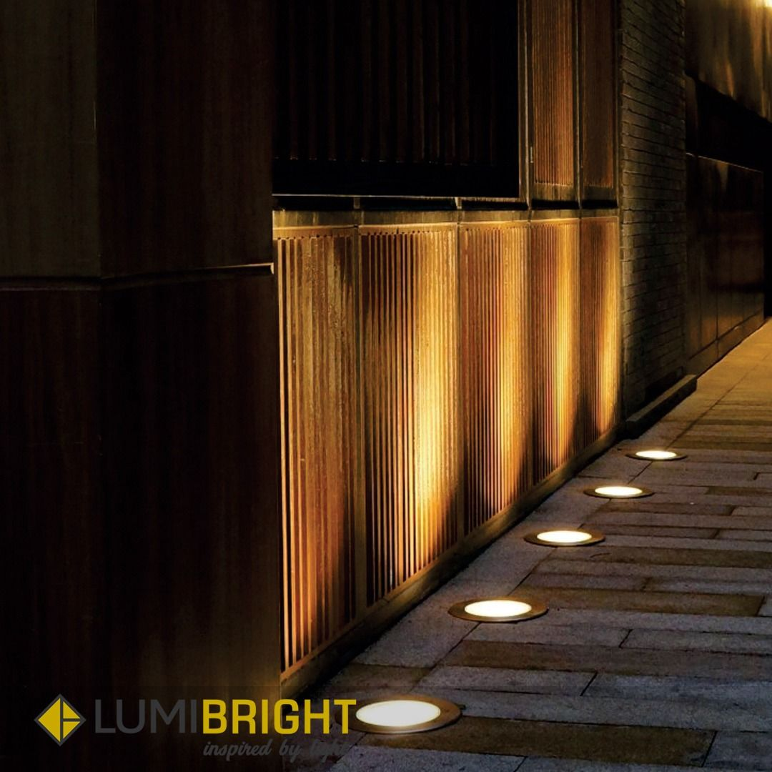 Chania Inground Light Is Designed To Enhance Outdoor Social Areas With Architectural Lighting W Led Outdoor Lighting Lighting Suppliers Lighting Manufacturers