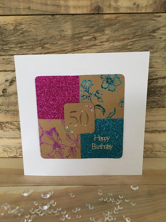 Handmade Birthday Card Special Birthday Happy Birthday 30th