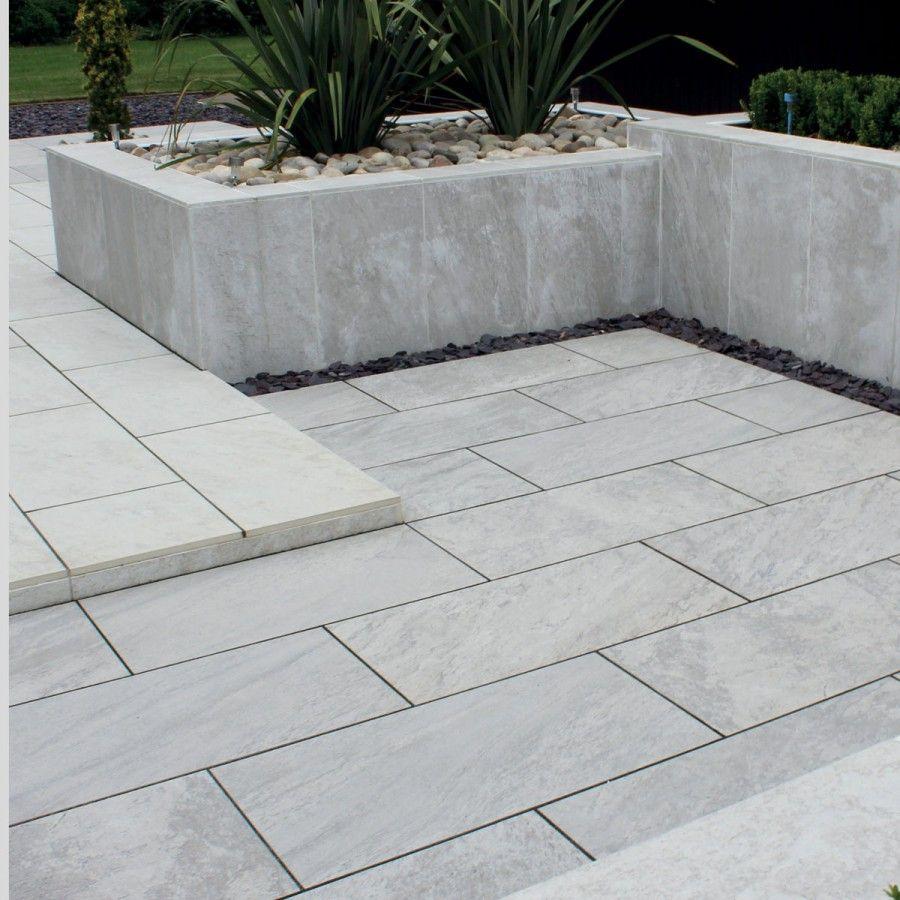 Natural Paving Vitripiazza Di Pietra Nuvola Paving Slabs Garden Slabs Garden Tiles Outdoor Tile Patio