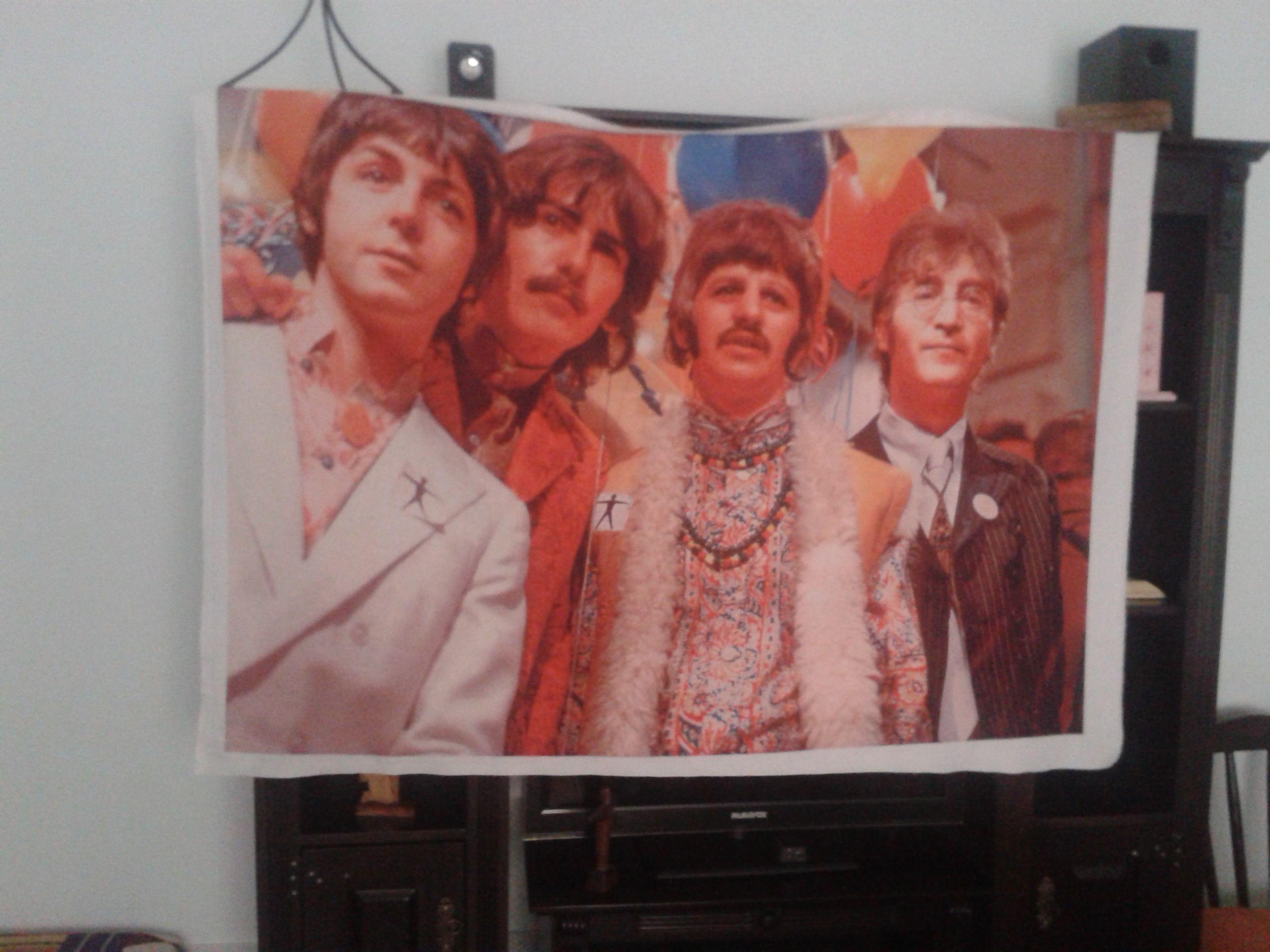 Bandera que copó mi casa