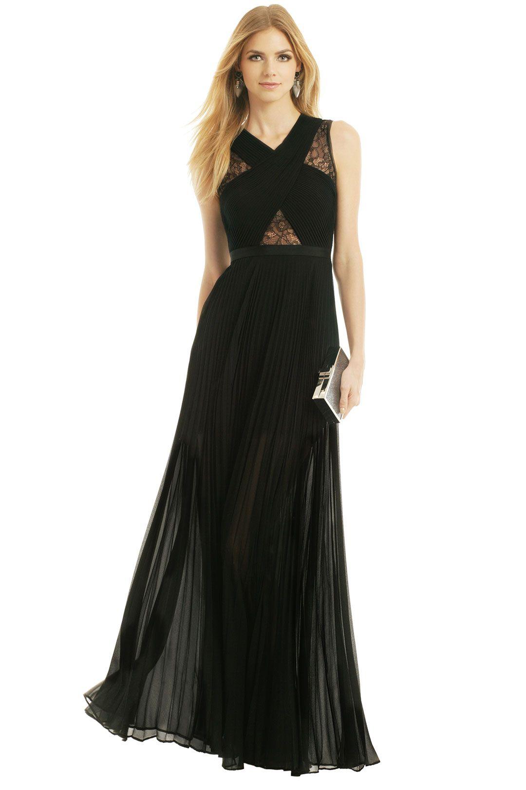 c222494644a9 BCBGMAXAZRIA Caia Pleated Gown. Bridesmaids dress for Kerrin's wedding!