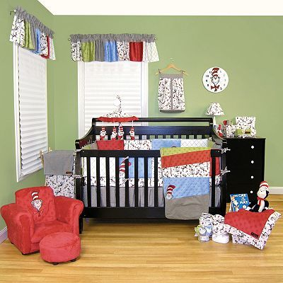 Superieur Seuss™ Cat In The Hat Crib Bedding Collection U003e Trend Lab® Dr. Seuss™ Cat  In The Hat Crib Bedding Set From Buy Buy Baby