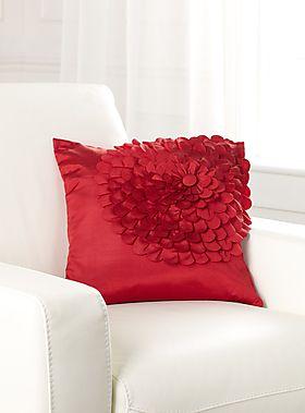 Cutout Flower Pillow
